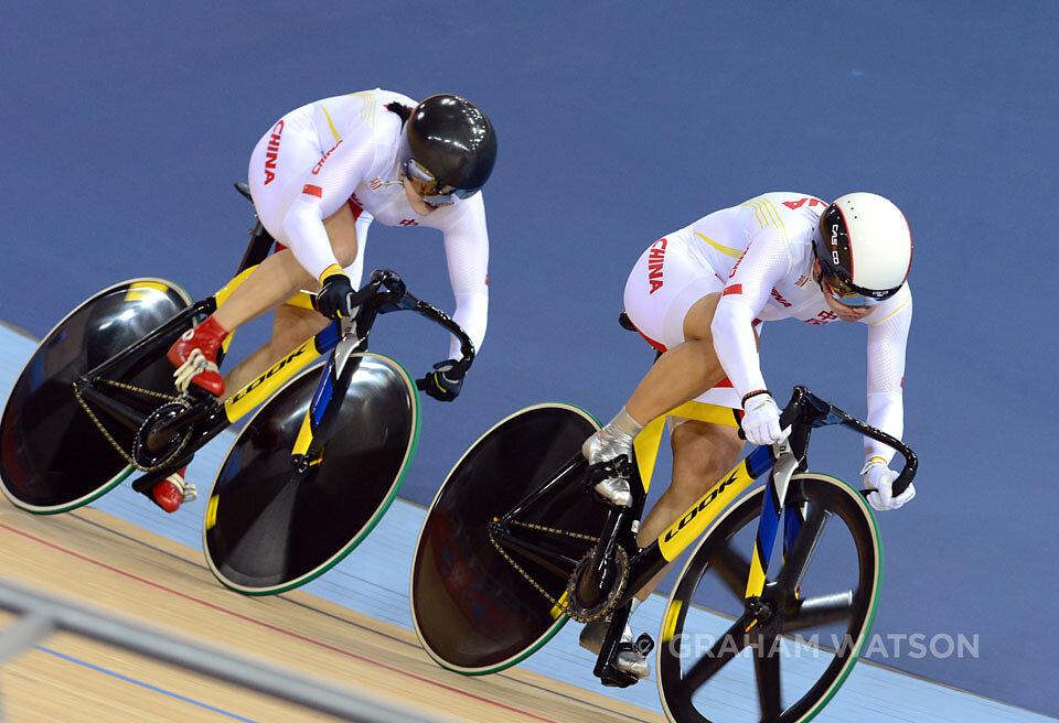 Olympic Games - Womens Team Sprint
